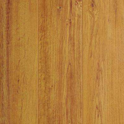 Light Oak 12 mm Thick x 4-3/4 in. Wide x 47-17/32 in. Length Laminate Flooring (11 sq. ft. / case)