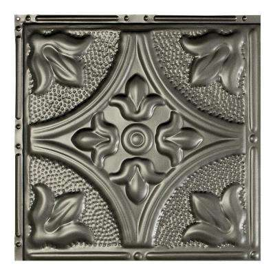 Jamestown Argento 12 in. x 12 in. Nail-Up Ceiling Tile Sample