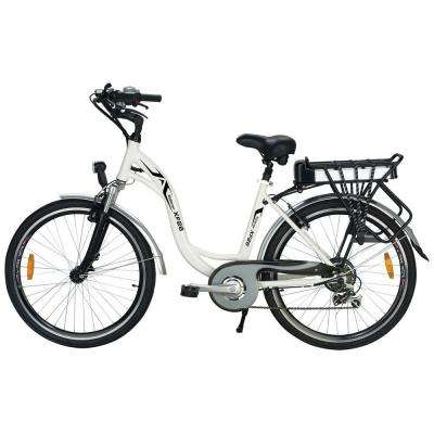 26 in. Sport Hybrid Electric Step Thru Version Age 16 Unisex Bike
