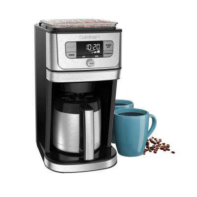 Burr Grind and Brew 10-Cup Thermal Coffeemaker in Brushed Stainless