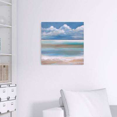 Tranquility by the Sea Coastal Canvas Wall Art