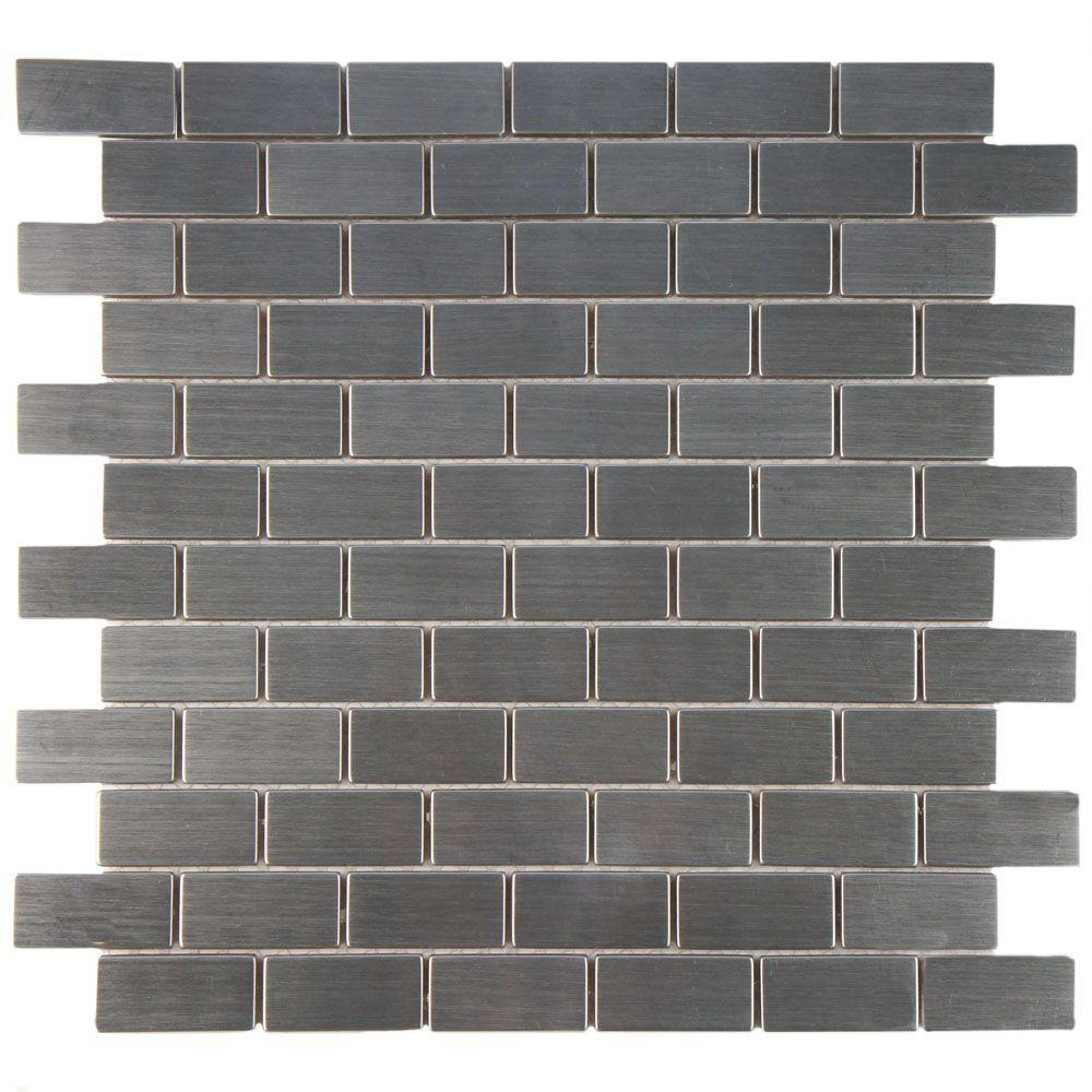 Merola Tile Conchella Subway Natural In X In X Mm - 4 by 8 subway tile