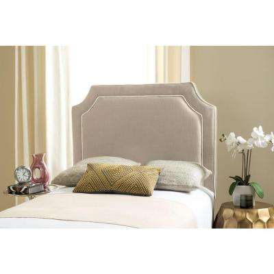 Dane Grey Twin Headboard