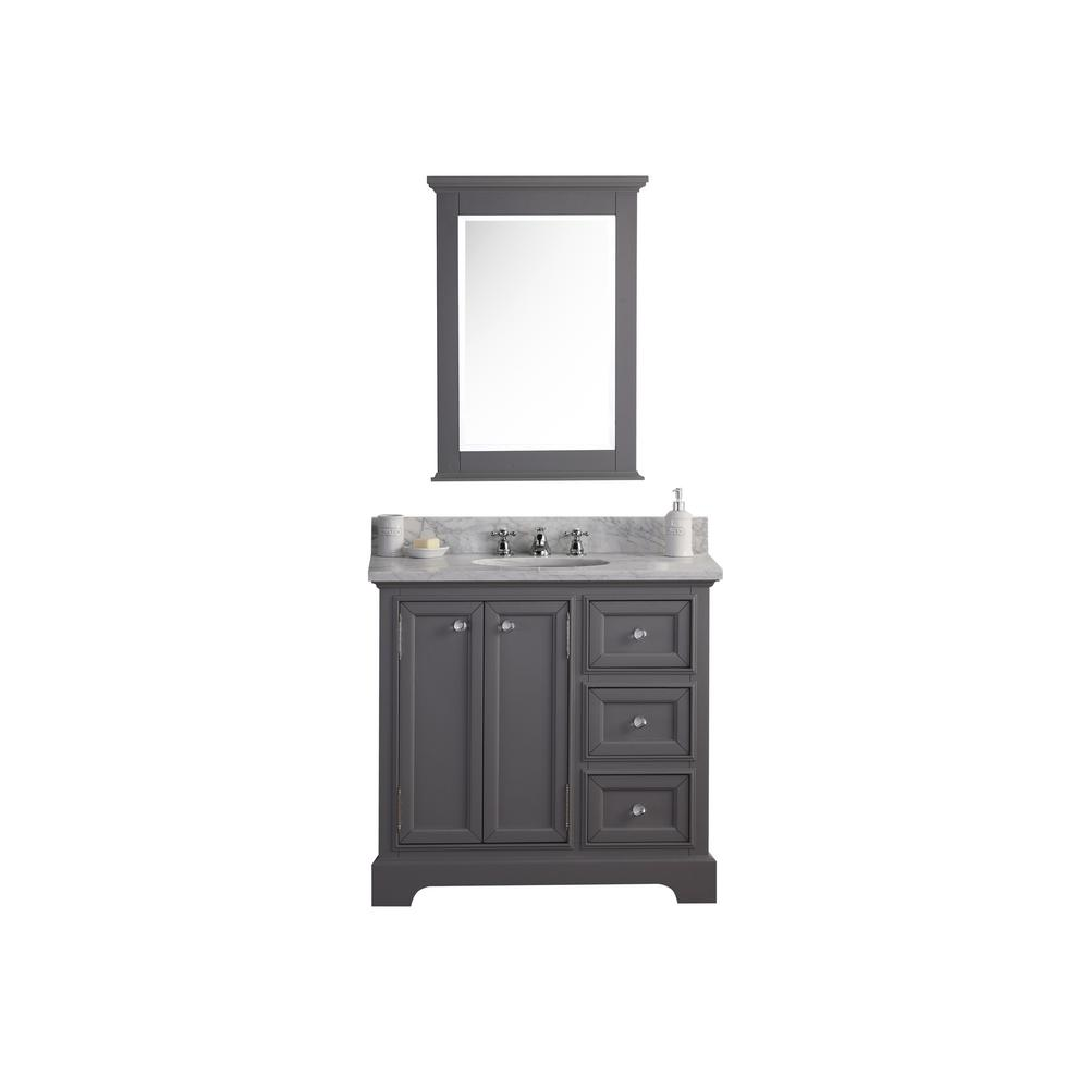 Derby 36 in. W x 34 in. H Bath Vanity in