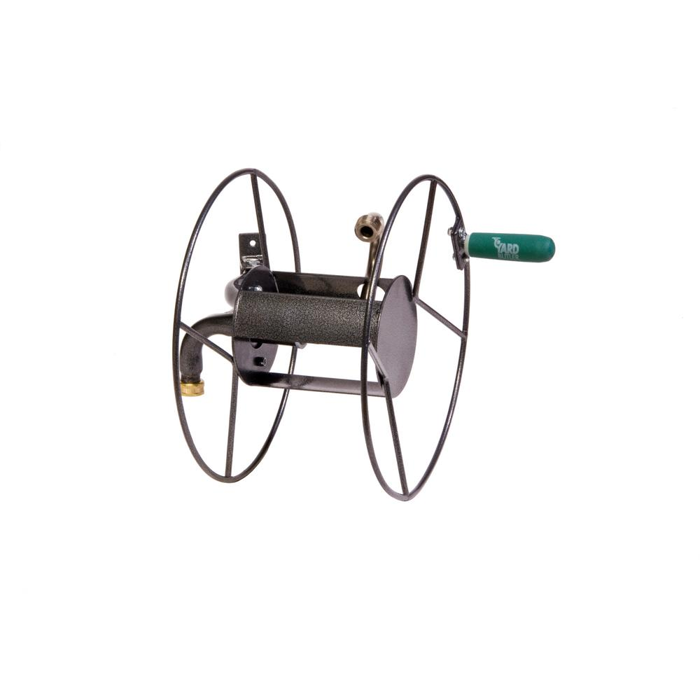 yard butler hose reel yard butler mighty reel 14022230 the home depot 1682