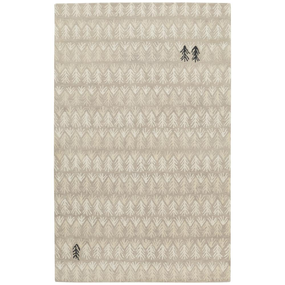 Genevieve Gorder Twigs Beige 8 Ft X 10 Area Rug