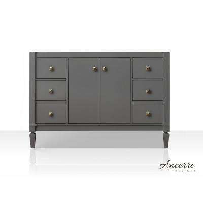 Kayleigh 47 in. W x 21 in. D Vanity Cabinet Only in Sapphire Gray