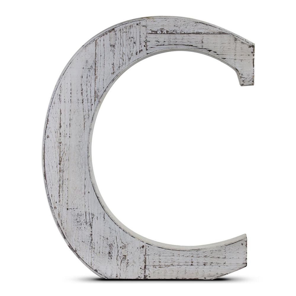 Crystal Art Gallery Wood Block Letter Hanging Initial \