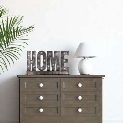 Home LED Sign Table Top Letter Block