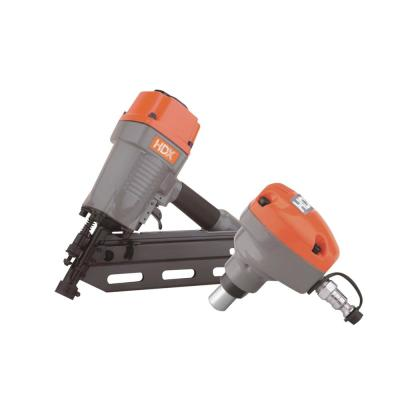 Pneumatic 34-Degree 3-1/2 in. Clipped Head Framing Nailer and Mini Palm Nailer Combo Kit with Nails (2-Piece)
