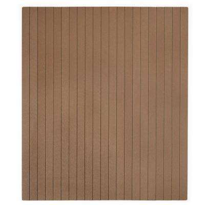 Natural Composite 36 in. x 48 in. Chair Mat with No Lip