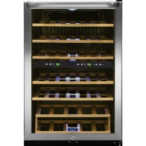Frigidaire 38-Bottle Wine Cooler with 2 Temperature Zones in Stainless Steel by Frigidaire