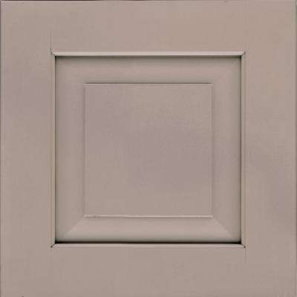 15x15 in. Cabinet Door Sample in Dillon Maple in Pebble Grey