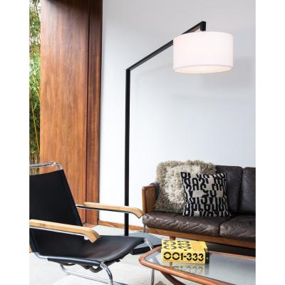Stretch Chairside Arc Lamp Matte Black