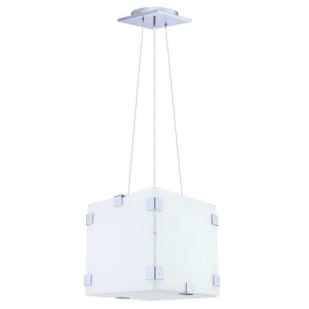 null Alea 1-Light Chrome Ceiling Pendant