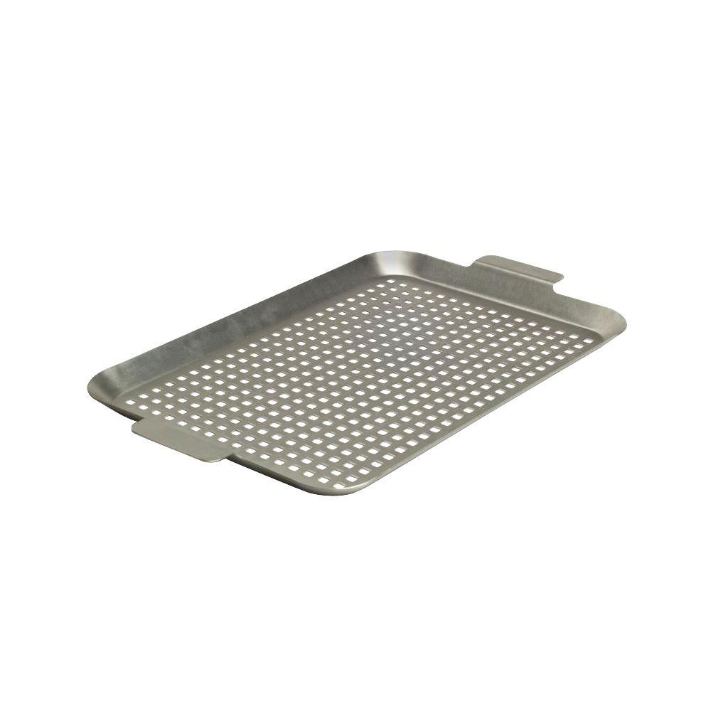Stainless Grid with Side Handles - Medium