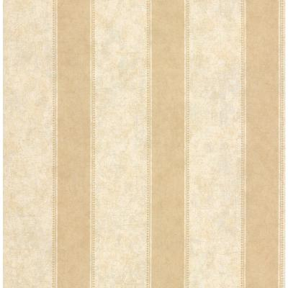 Olivia Gold Striped Wallpaper