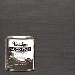 1/2 pt. Weathered Gray Wood Stain