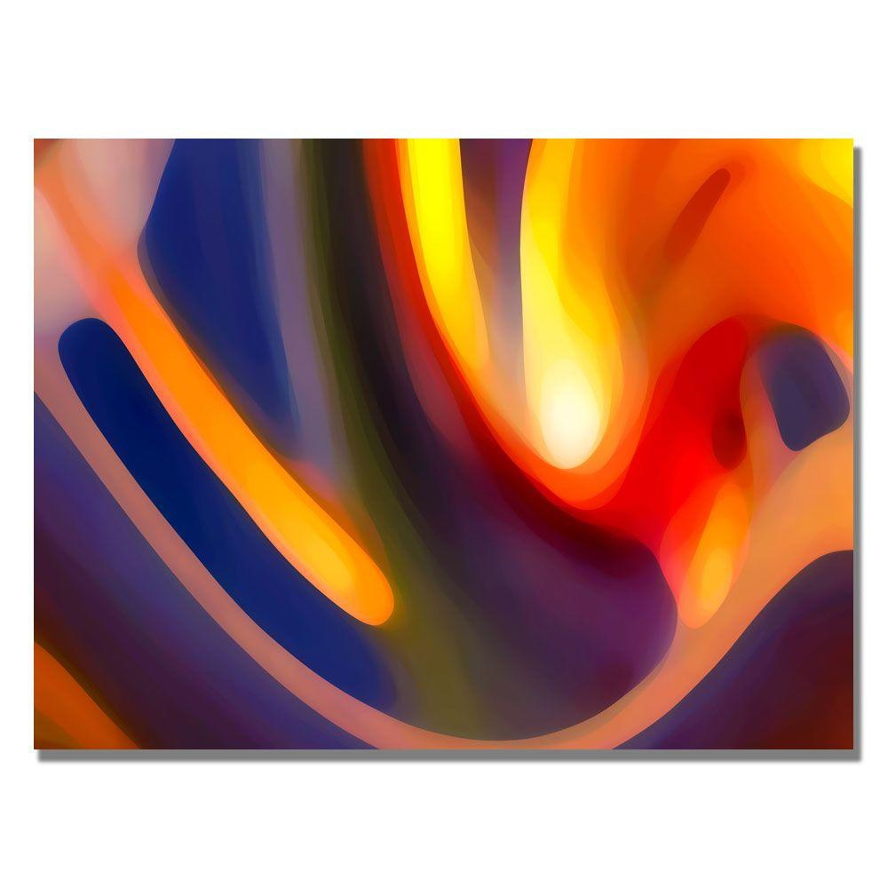 Trademark Fine Art 35 in. x 47 in. Creation of Paradise Canvas Art