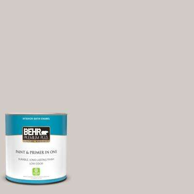 1 qt. #PPU18-09 Burnished Clay Satin Enamel Low Odor Interior Paint and Primer in One