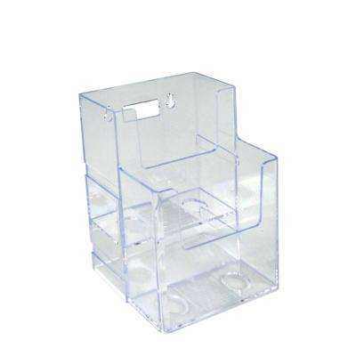 2 in. Clear Glass Filled Nylon Hook (50-Pack)