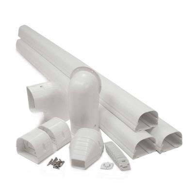 "Fortress 3.5"" LDK92W 12'  White Lineset Cover Kit"