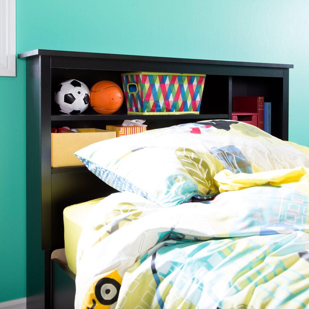 south shore vito queen mates bed frame with drawers and book