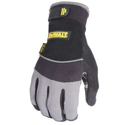 All Purpose Synthetic Padded Palm Performance Work Glove - Large