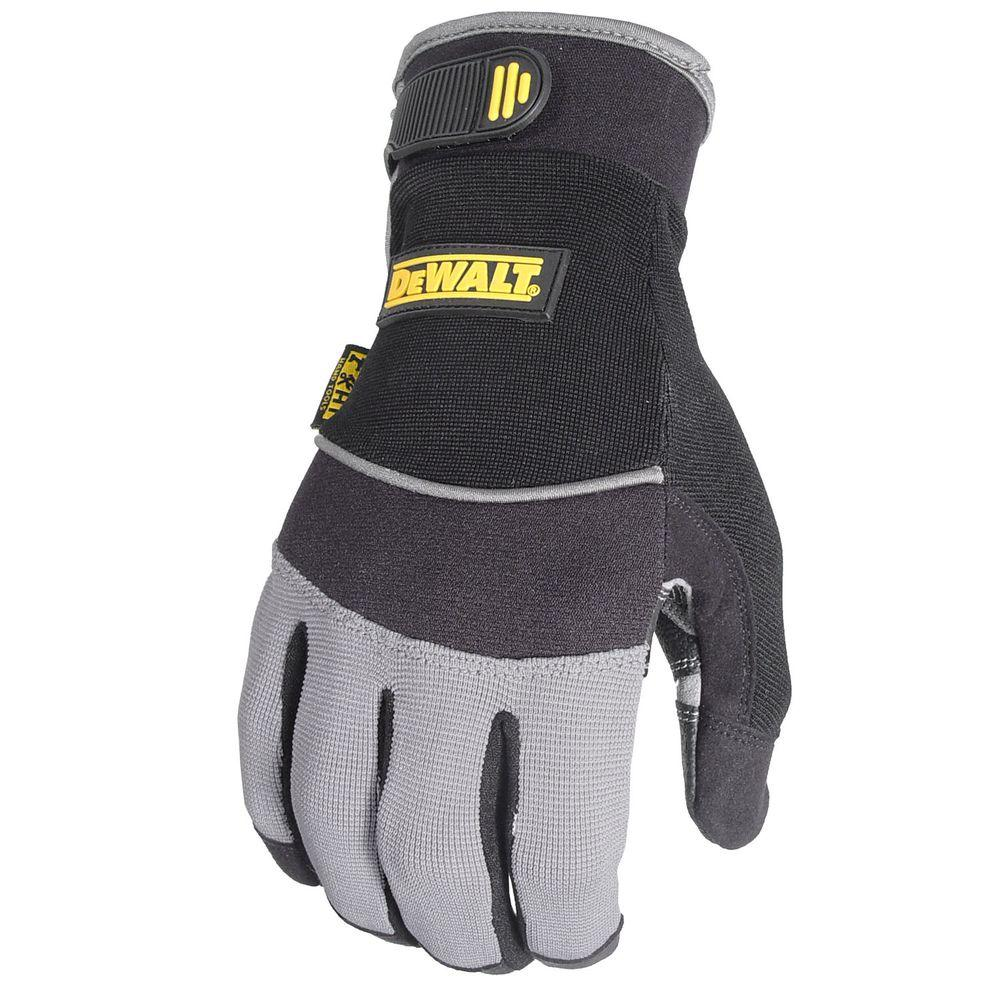 DEWALT All Purpose Synthetic Padded Palm Performance Work Glove - Small