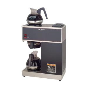 Click here to buy Bunn 12-Cup Pourover Commercial Coffee Brewer with 2 Easy Pour Decanters by Bunn.