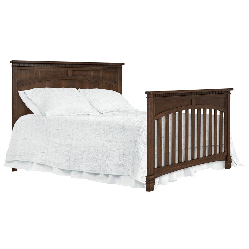 Santa Fe 5-in-1 Antique Brown Convertible Crib