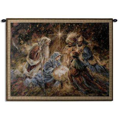 56 in. We Three Kings Woven Wall Tapestry