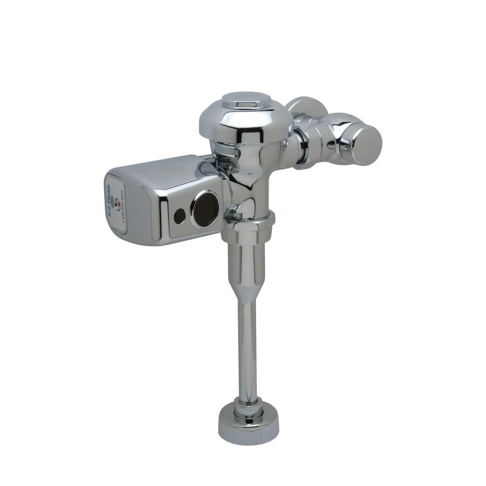 0.125 GPF Sensor Operated Battery Powered High Efficiency Flush Valve