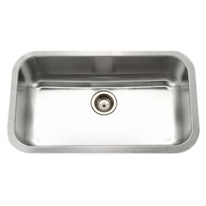 Eston Series Undermount Stainless Steel 32 in. Single Bowl Kitchen Sink (5-Pack)