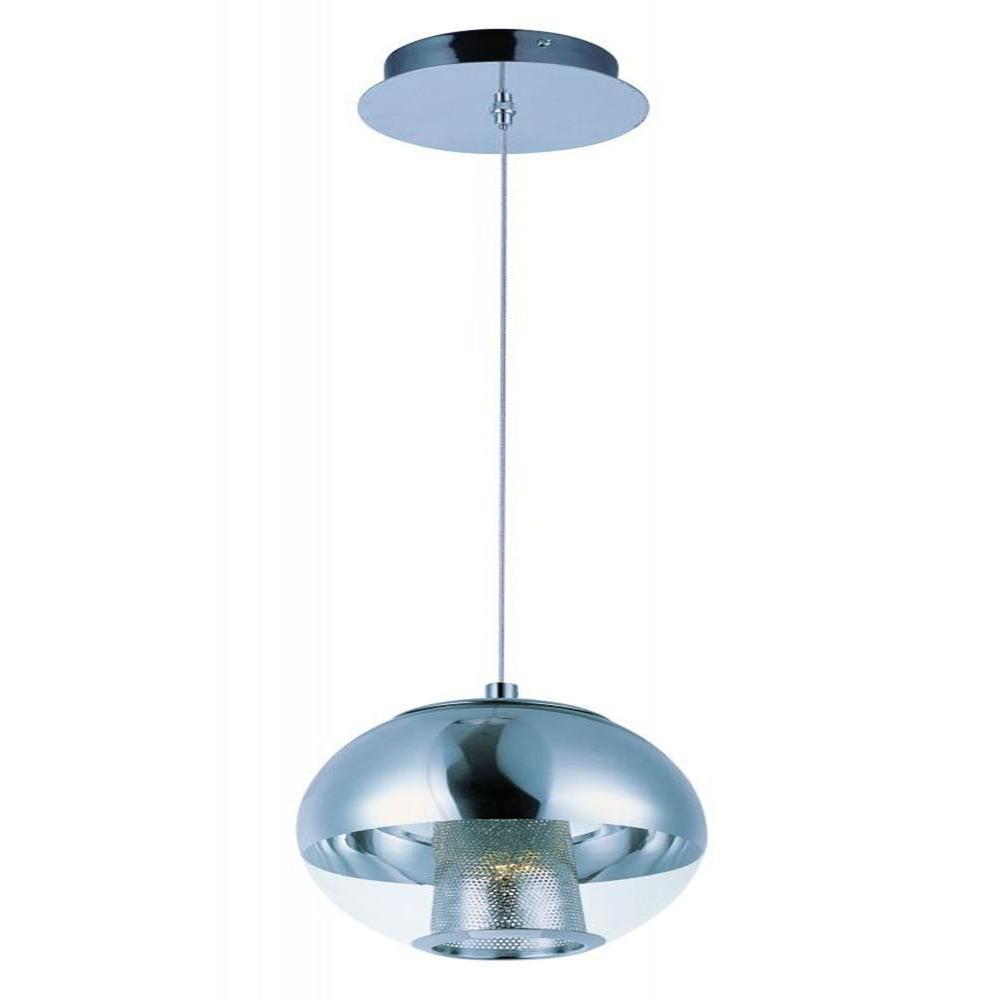CLI Reflex 1-Light LED Pendant  sc 1 st  Home Depot & CLI Reflex 1-Light LED Pendant-E22782-81PC - The Home Depot azcodes.com