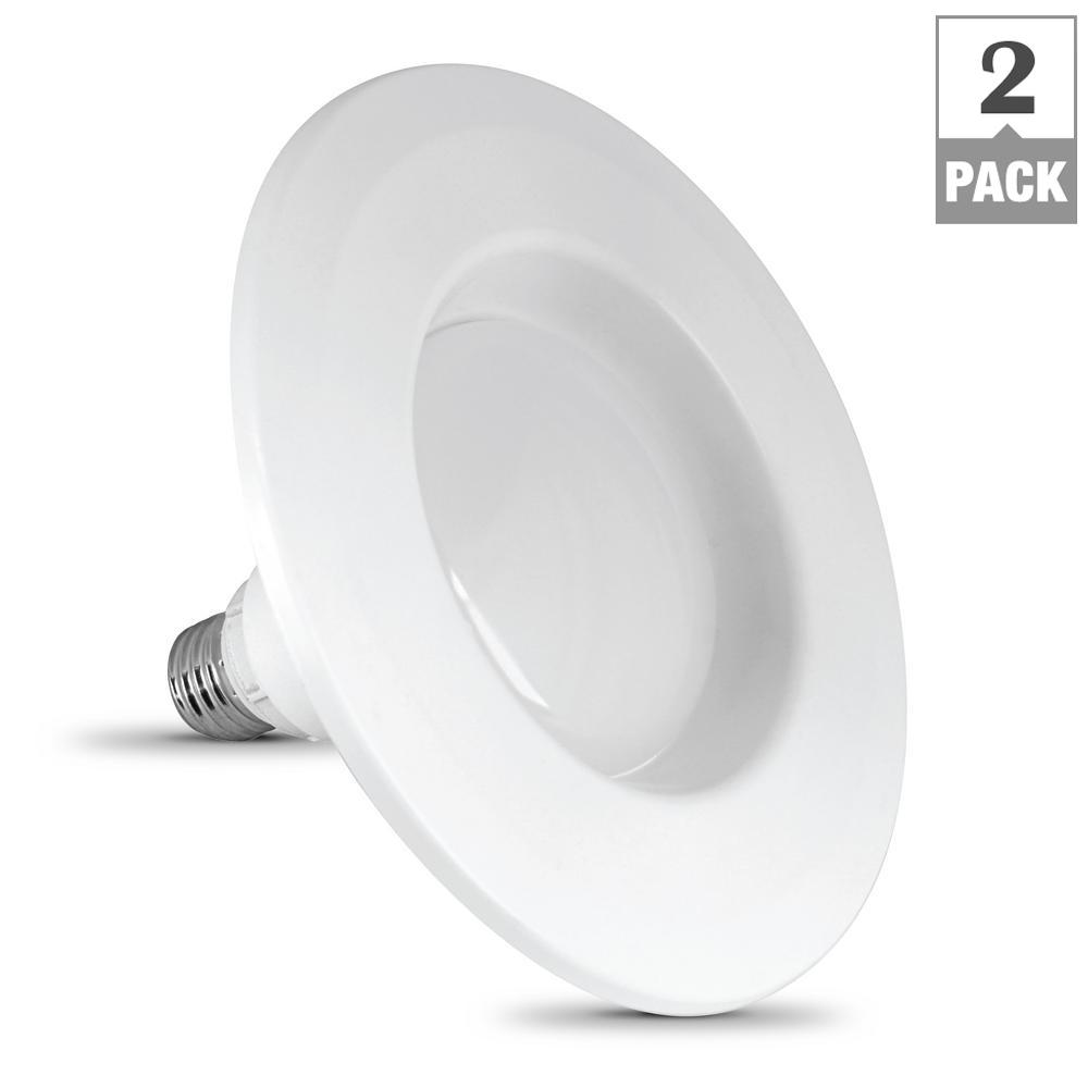 Feit electric instatrim 4 in 45 watt equivalent r20 dimmable led 45 watt equivalent r20 dimmable led energy star 90 mozeypictures Choice Image