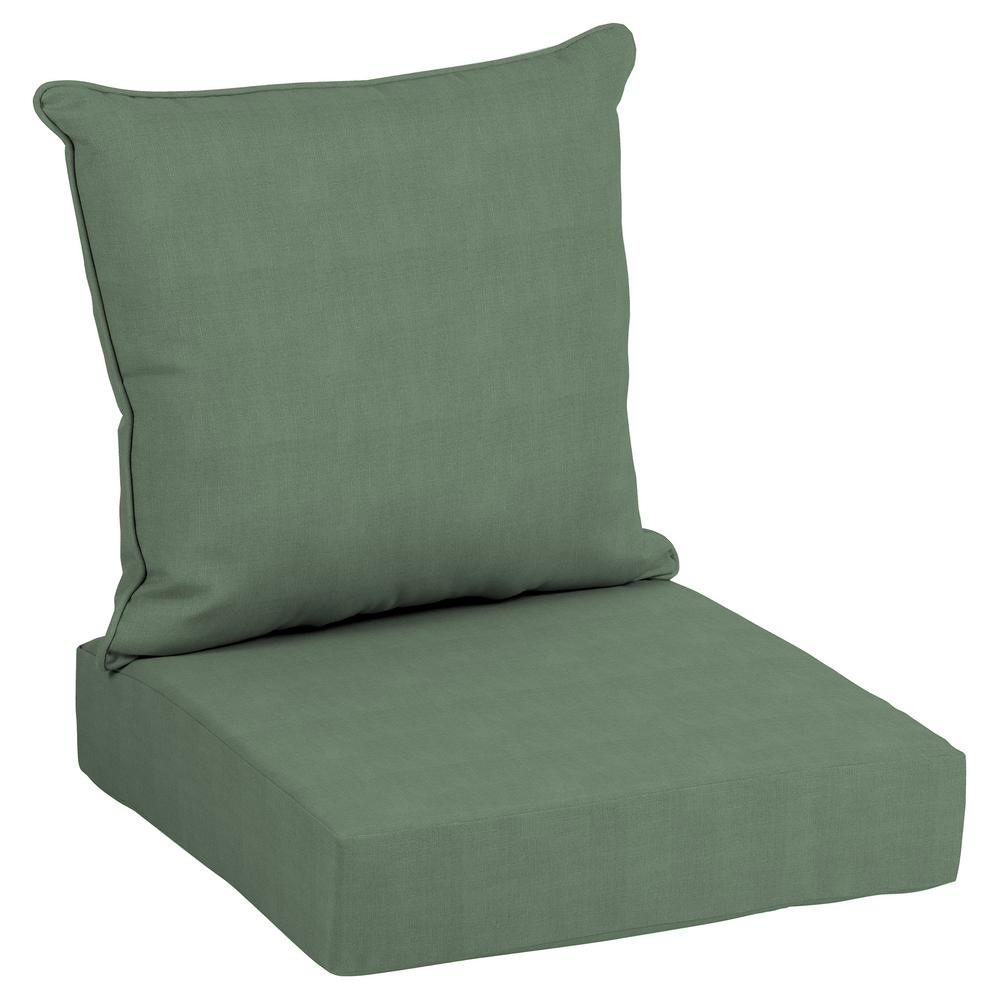 24 x 24 Outdoor Lounge Chair Cushion in CushionGuard Surplus