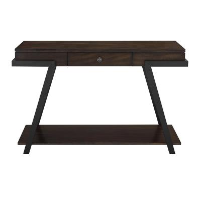 Artemis Contemporary Mocha Sofa Table