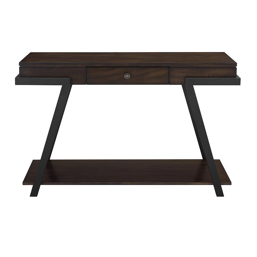 Steve Silver Artemis Contemporary Mocha Sofa Table AR400S