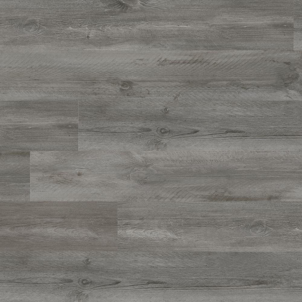 MSI Pelican Gray 7 in. x 48 in. Rigid Core Rigid Core Luxury Vinyl Plank Flooring(55 cases / 1307.35 sq. ft. / pallet)