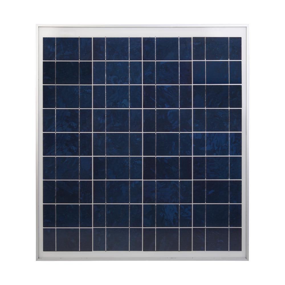 60-Watt 12-Volt Polycrystalline Solar Panel