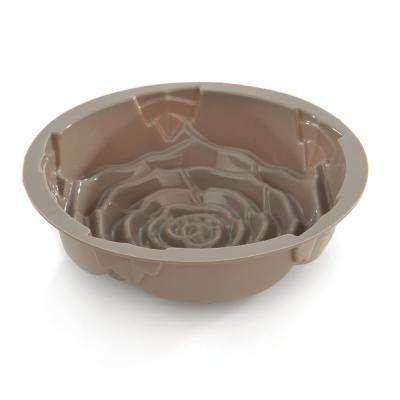 Studio Silicone 9.75 in. Rose Cake Mold