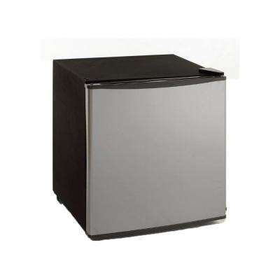 1.7 cu. ft. Mini Refrigerator in Stainless Steel