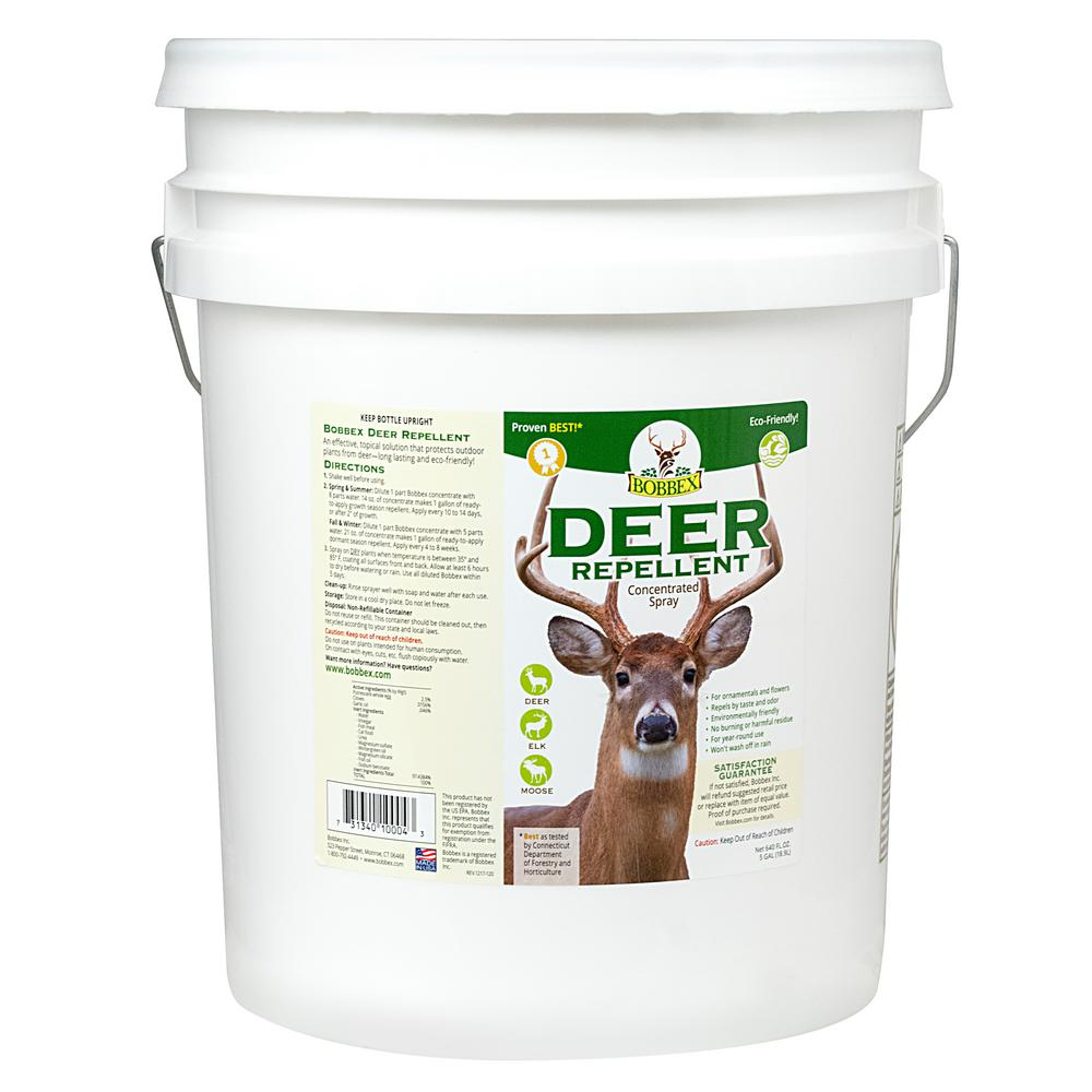 5 Gal. Bobbex Deer Repellent Concentrated Spray