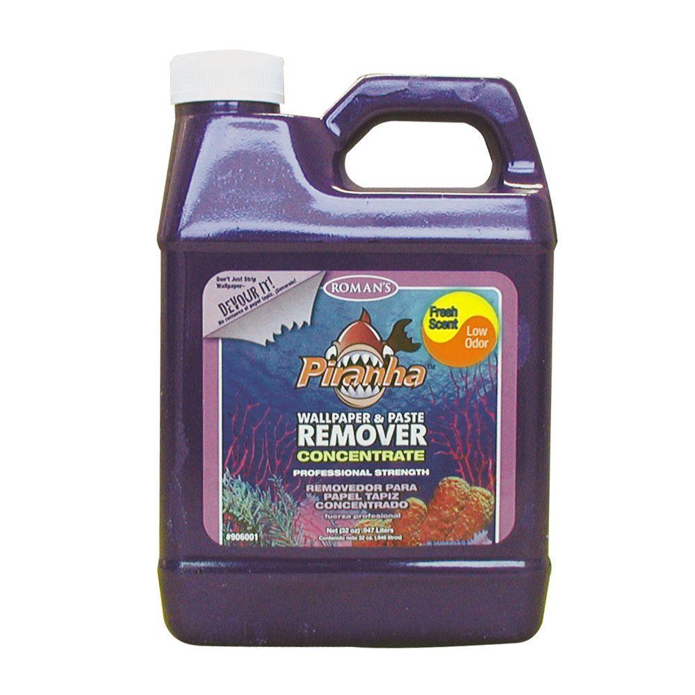 Piranha 32 oz. Liquid Concentrate Wallpaper Remover