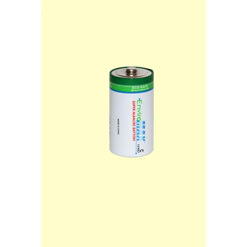 Fuji EnviroMax Super Alkaline C Battery (4 per Pack)