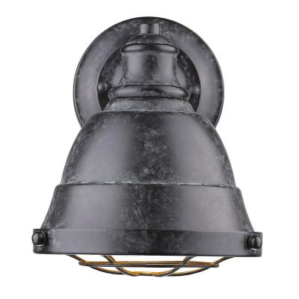 Bartlett 1-Light Black Patina Bath Light