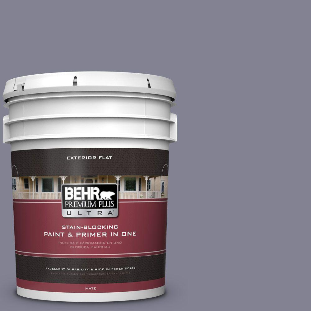 BEHR Premium Plus Ultra 5-gal. #BNC-19 Formal Affair Flat Exterior Paint