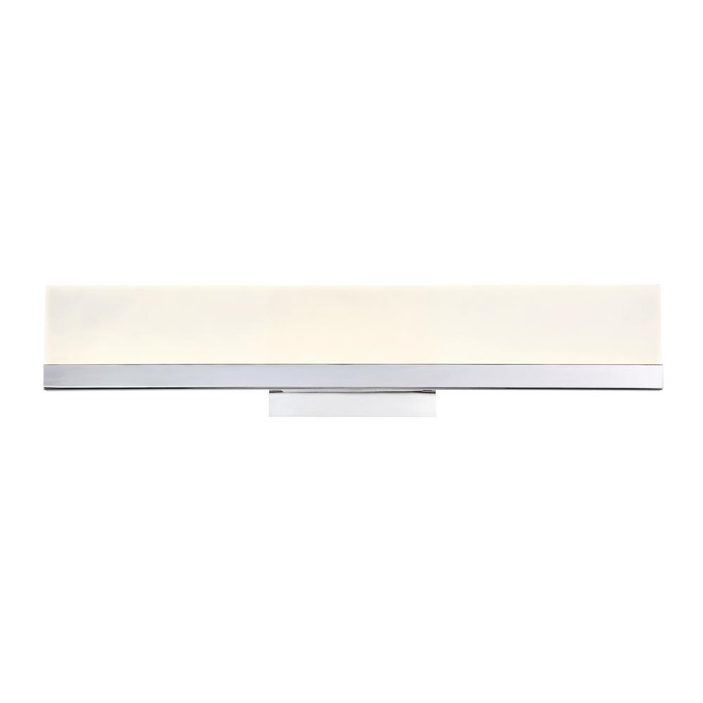 best service 7d278 a41be Eurofase Sole Collection 23-Watt Chrome Integrated LED Sconce