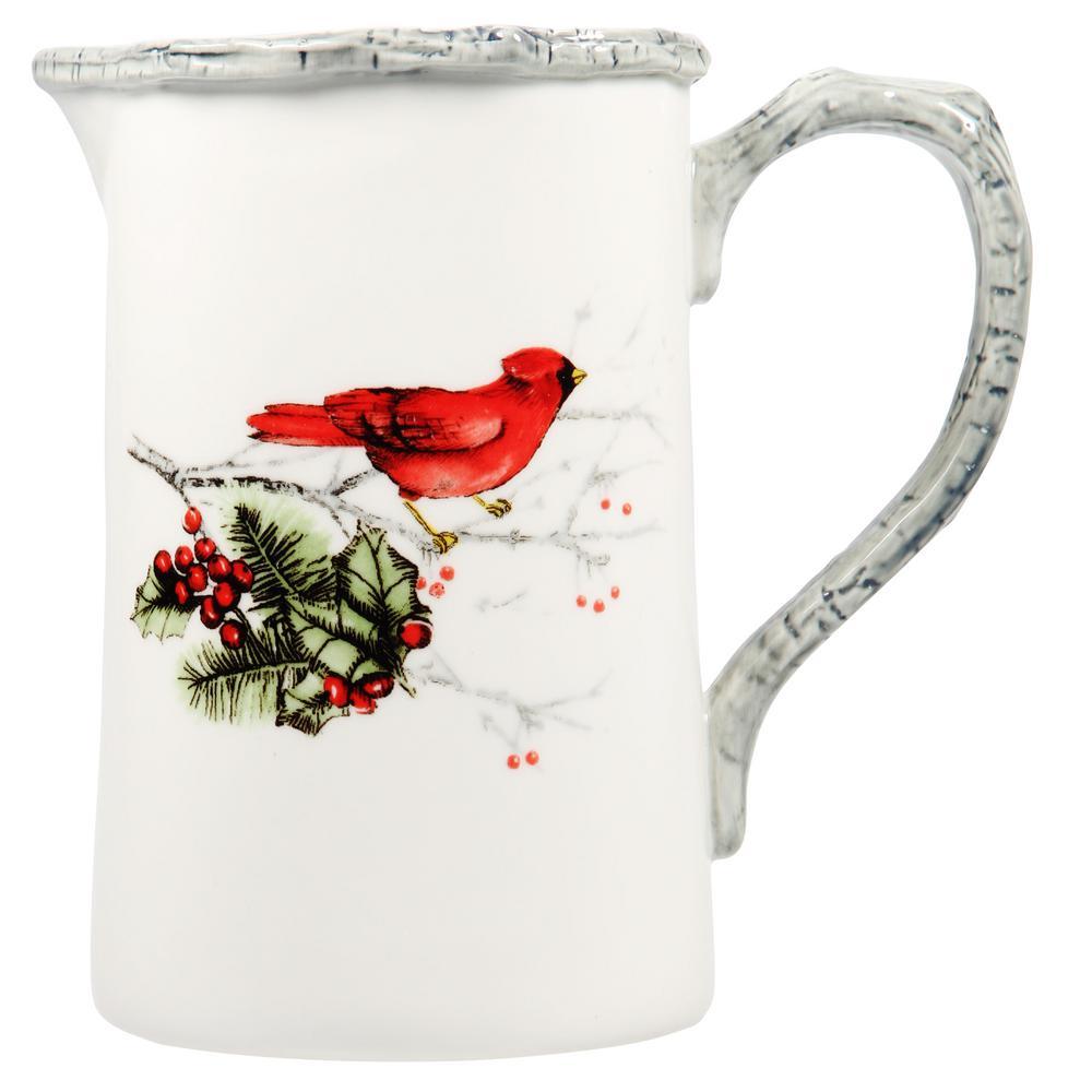 33 fl. oz. Cardinal Holly Pitcher